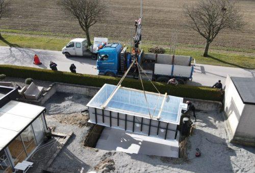 Installation av PP pool